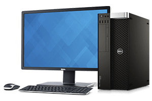 کامپیوتر دسکتاپ دل Precision T3610
