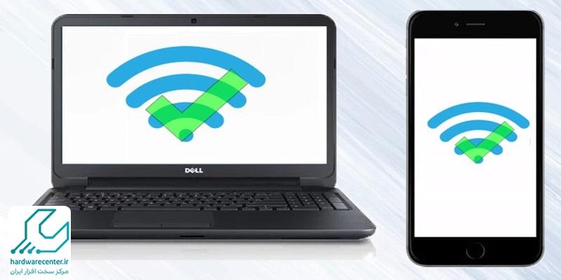اتصال اینترنت گوشی به لپ تاپ