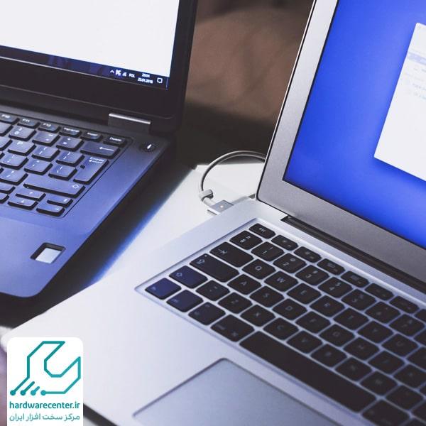 شبکه کردن دو لپ تاپ